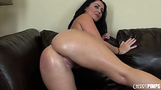 Terrific ass and oily tits of cool lass Sophie Dee is such a nice combination